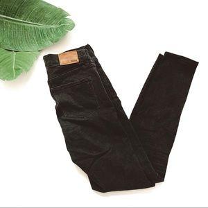 Madewell Roadtripper Skinny Jeans Black